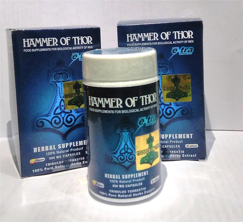 Hammer of thor – en pharmacie – composition – site officiel